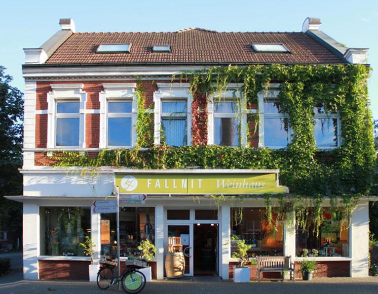 Weinhaus Fallnit - Ansicht Ladenlokal
