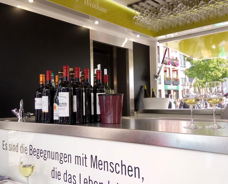 Weinmobil Fallnit - Begegnungen