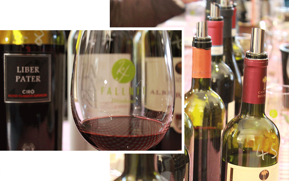 Fallnit Weinmessen